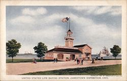 United States Life Saving Station, Jamestown Exposition, 1907