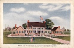 Army and Navy Club, Jamestown Exposition Postcard