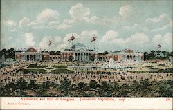 Auditorium and Hall of Congress, Jamestown Exposition, 1907