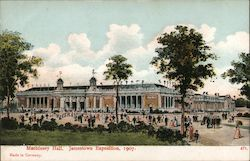 Machinery Hall, Jamestown Exposition, 1907 Postcard