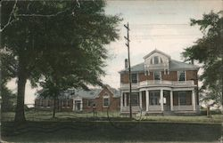 Infirmary and Sigma Chi Chapter House, University of Mississippi