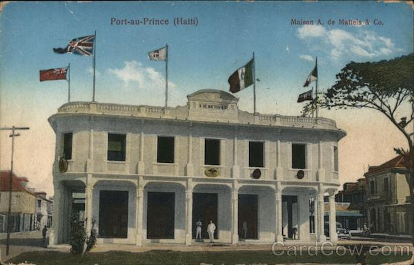 Commercial Headquarters of A. de Matteis & Company Port-au-Prince Haiti