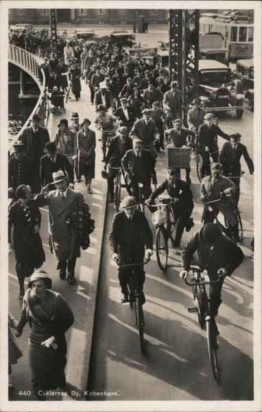 The City of Cycles Copehagen Denmark
