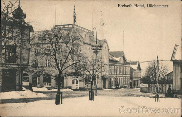 Breiseth Hotel Lillehammer Norway