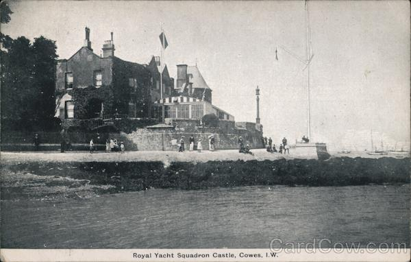 Royal Yacht Squadron Castle Cowes England