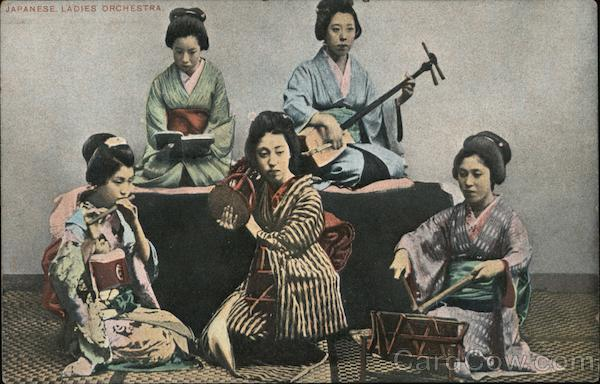 Japanese ladies orchestra
