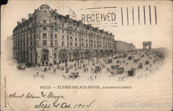 Elysee-Palace-Hotel (Champs-Elysees) Paris France
