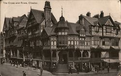 The Cross and Rows, Chester Postcard