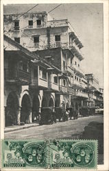 Typical building of Spanish colonial architecture Postcard
