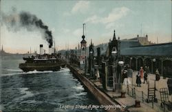 Landing Stage and New Brighton Ferry