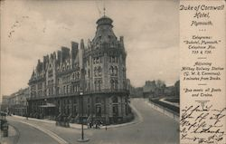 Duke of Cornwall Hotel Postcard