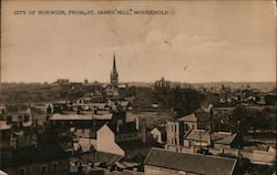 "View of City From ""St. James' Hill"", Mousehold"