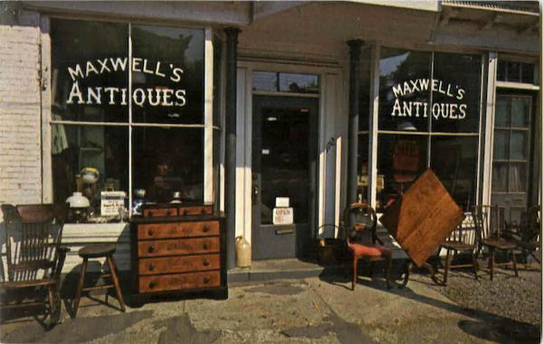 Maxwell's Antiques, 172 Water Street Hallowell Maine