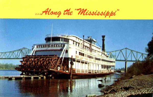 Along The Mississippi Riverboats