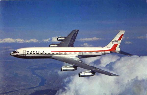 Boeing 707-320C Jet Aircraft