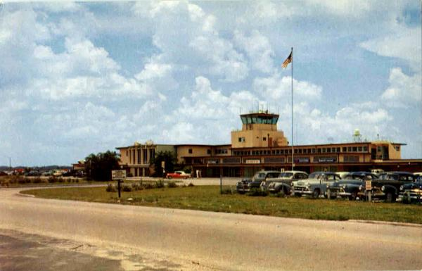 A Natural Color Photo Of The Famous International Airport Tampa Florida