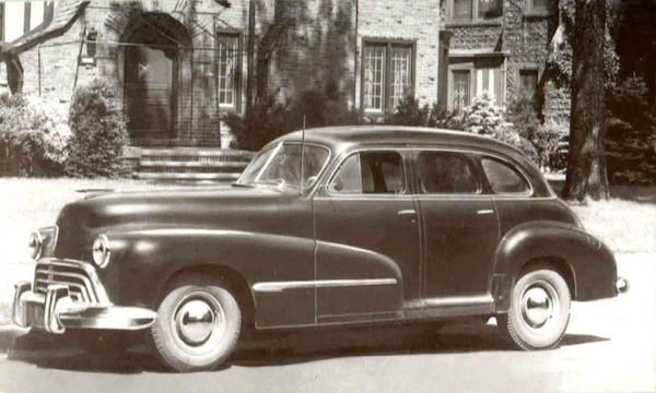 1946 Oldsmobile 66 Cars