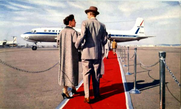 Red Carpet - United Airlines Aircraft