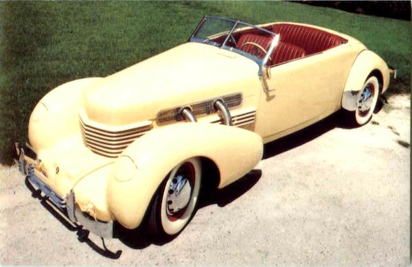 1937 Cord Phaeton Sedan Cars