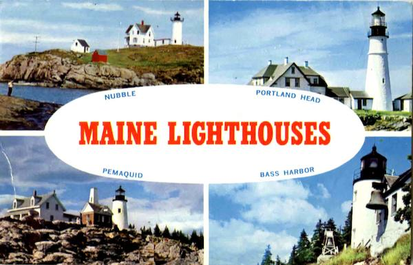 Maine Lighthouses Scenic