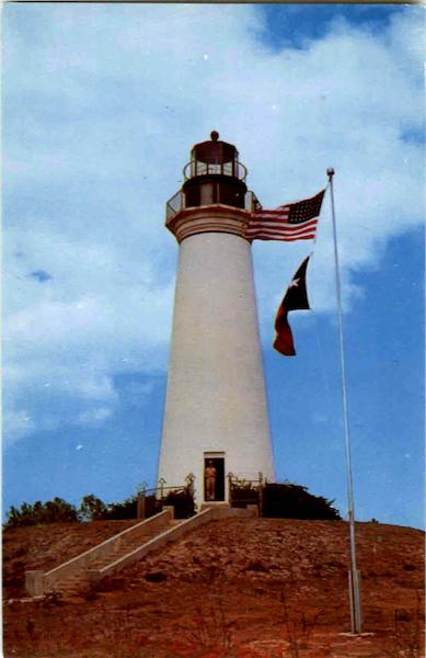 The Old Lighthouse At Port Isabel Texas