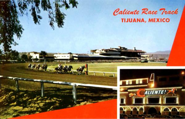 Caliente Race Track Tijuana Mexico Horse Racing