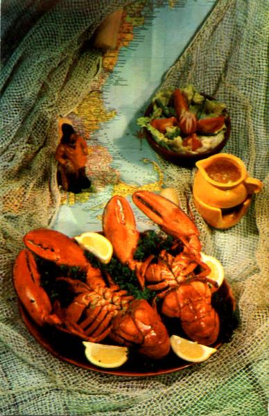 A Real Lobster Dinner , RTE - 3 Fronconia Notch Lincoln New Hampshire