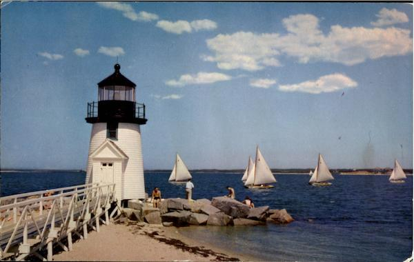 Sailing Races, Brant Point Nantucket Massachusetts