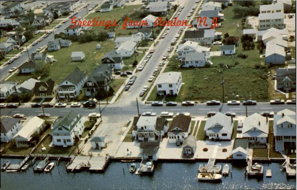 Aerial View Avalon New Jersey