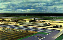 Montreal International Airport Postcard