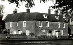 Jane Austen's House Postcard