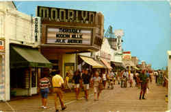 Famous Boardwalk Postcard