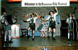 Wilkommen To The Bavarian Folk Festival