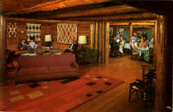 Guest Lounge Jenny Lake Lodge, Grand Teton National Park