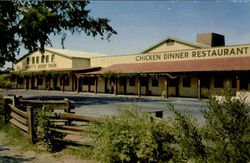 MRS. KNOTT'S CHICKEN DINNER RESTAURANT.At ,, ,, Knott's Berry Farm Postcard