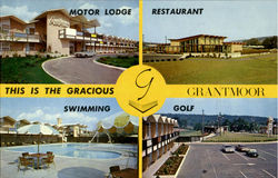 GRANTMOOR MOTOR LODGE AND RESTAURANT, 300 BerlinTurnpike Postcard