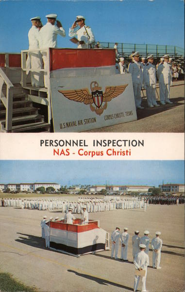 Personnel Inspection- NAS Corpus Christi Texas Frank B. Whaley