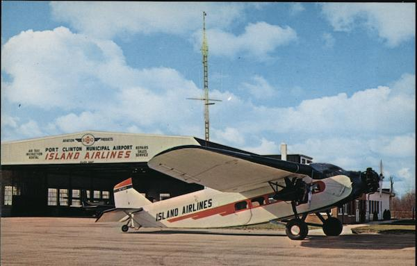 Island Airlines, Port Clinton Municipal Airport Ohio