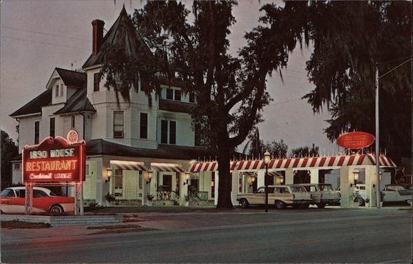 1890 House Restaurant Ocala Florida