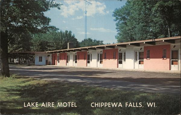 Lake Aire Motel Chippewa Falls Wisconsin