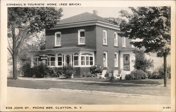 Consaul's Tourists' Home Clayton New York