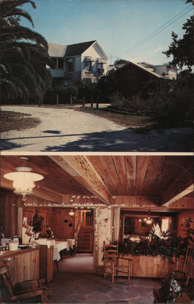 Branch Ranch Dining Room Plant City Fl Postcard