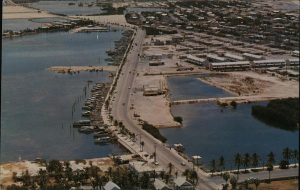 Airview of Roosevelt Boulevard Key West Florida