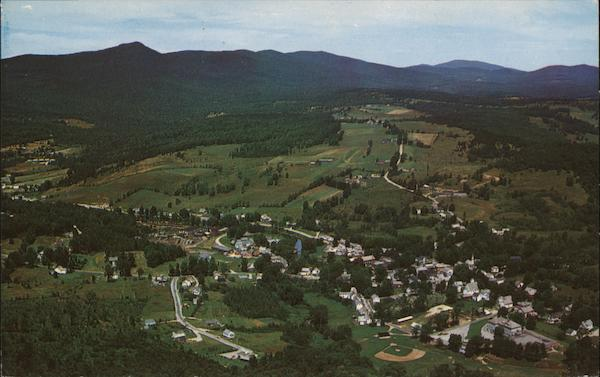 Air View of Wilmington Vermont