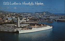 SS Lurline in Honolulu Harbor