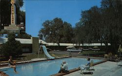 Sun Plaza Motor Manor Postcard