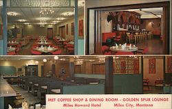 Met Coffee Shop & Dining Room - Golden Spur Lounge Miles Howard Hotel