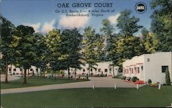 Oak Grove Court on U.S. Rout 1 - 4 miles North of Fredericksburg, Virginia