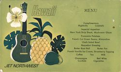 Jet Northwest Hawaii Menu