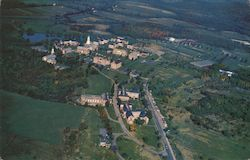 Air View of Colby College